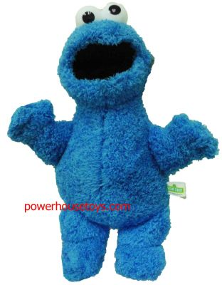 """Cookie Monster Plush, 12"""""""