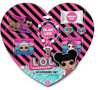LOL 14PCHAIR & JEWELRY SET IN HEART PACKAGING