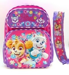 "PAW PATROL GIRLS 3-D 16"" BACKPACK W/PRINTED STRAPS"