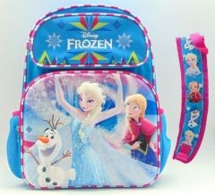 "FROZEN 3-D 16"" BACKPACK W/PRINTED STRAPS"